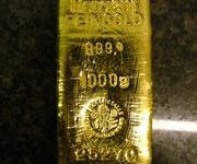 Goud staaf
